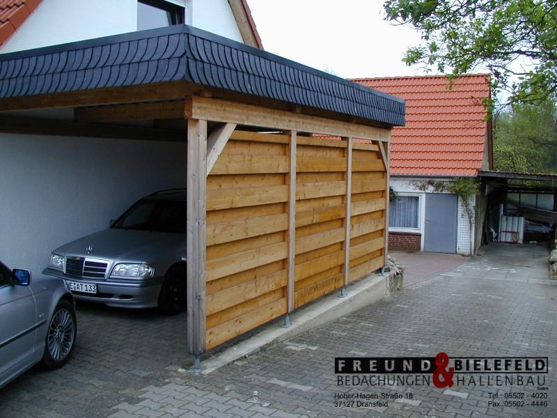 solartechnik dachdecker hallen freund bielefeld carport verschieferung. Black Bedroom Furniture Sets. Home Design Ideas